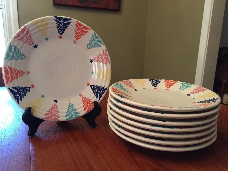 Fiesta Christmas Tree Dinnerware & Homer Laughlin Fiesta