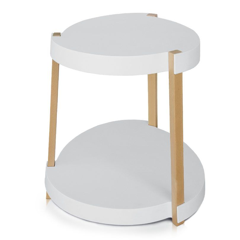 This Side Table Fits Nicely In Any Space But It Was Designed To