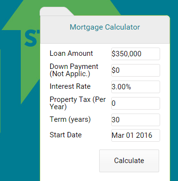 Need To Calculate Your Mortgage Payment Click The Link Below For