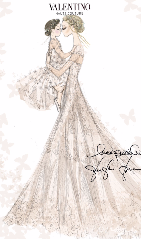 Log In Wedding Dress Sketches Valentino Wedding Dress Dress Sketches
