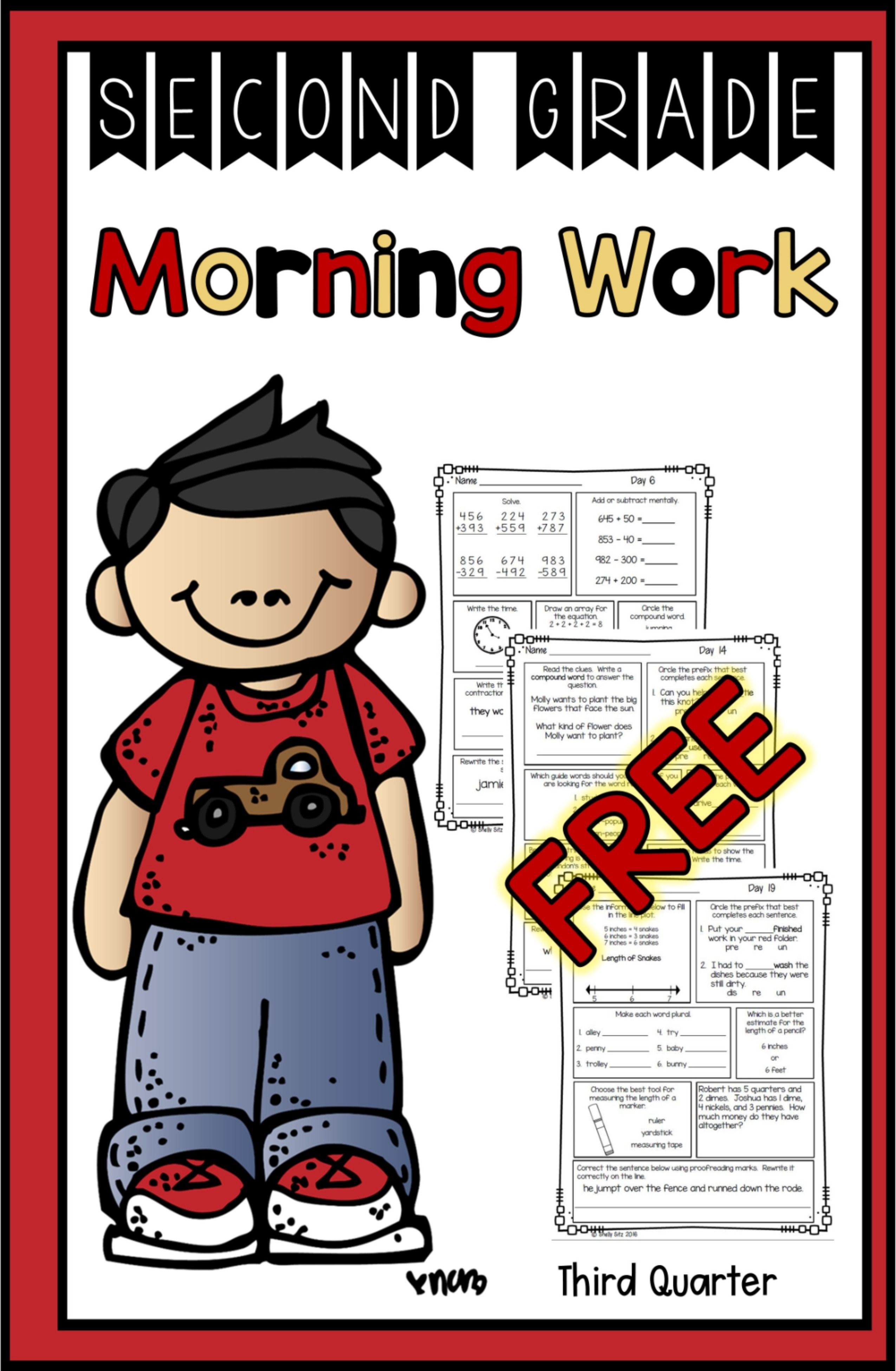 Free Morning Work In