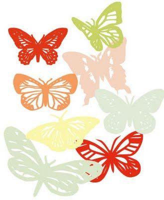 Dingbat - Urban Comfort Dingbat fonts including butterflies, keys, & snowflakes