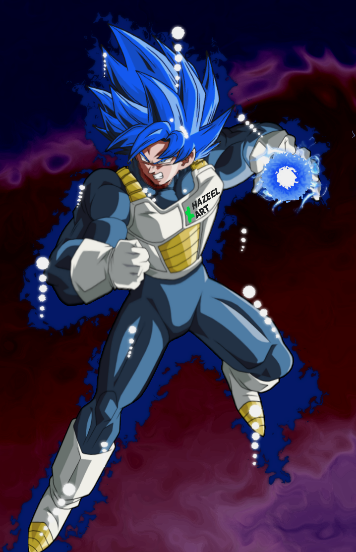 Super Saiyan Blue Evolution Goku By Hazeelart On Deviantart Dragon Ball Art Anime Dragon Ball Dragon Ball Super Wallpapers