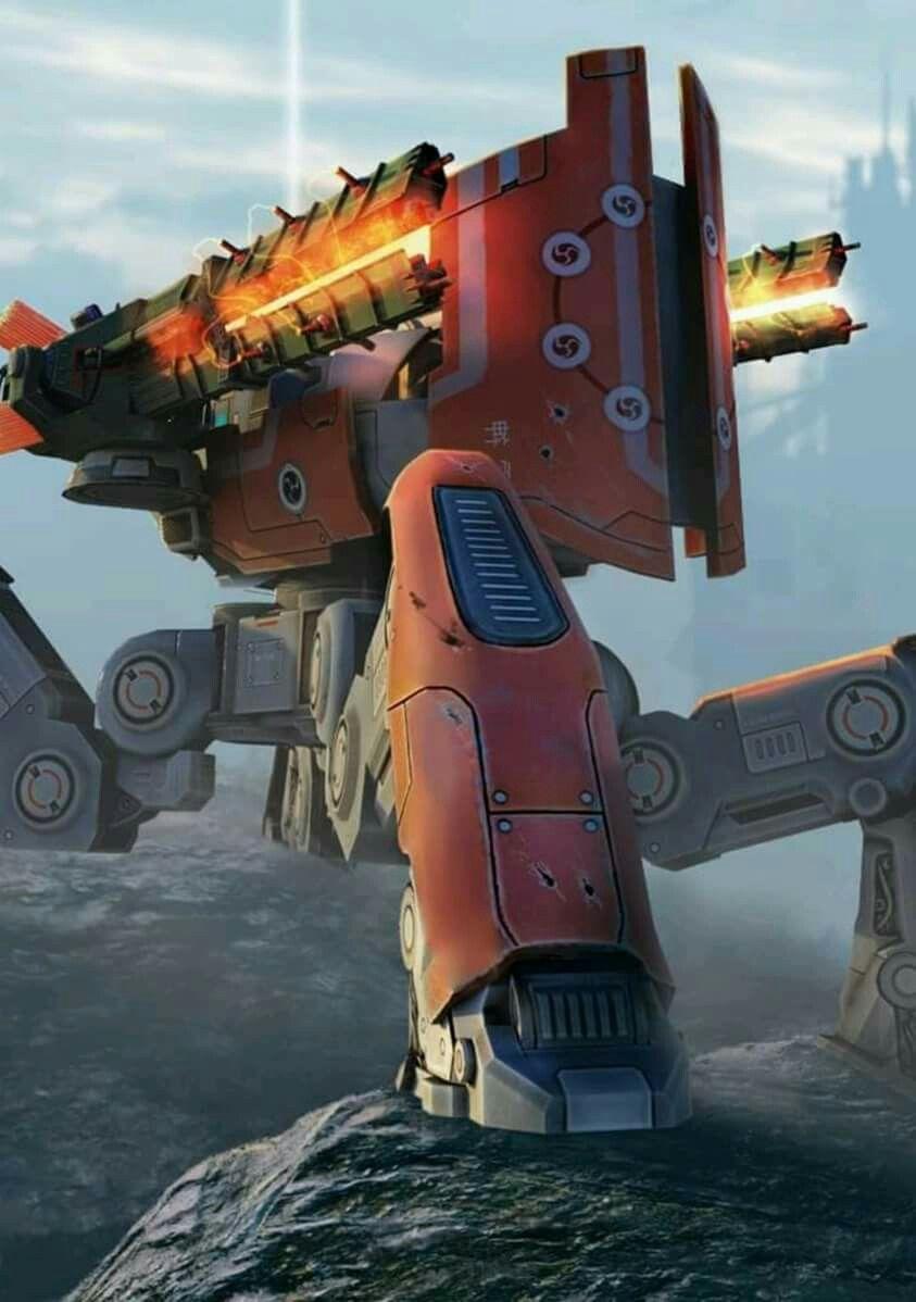 Pin By Franco Del Castillo On War Robots Robot Wallpaper War Machine Mech