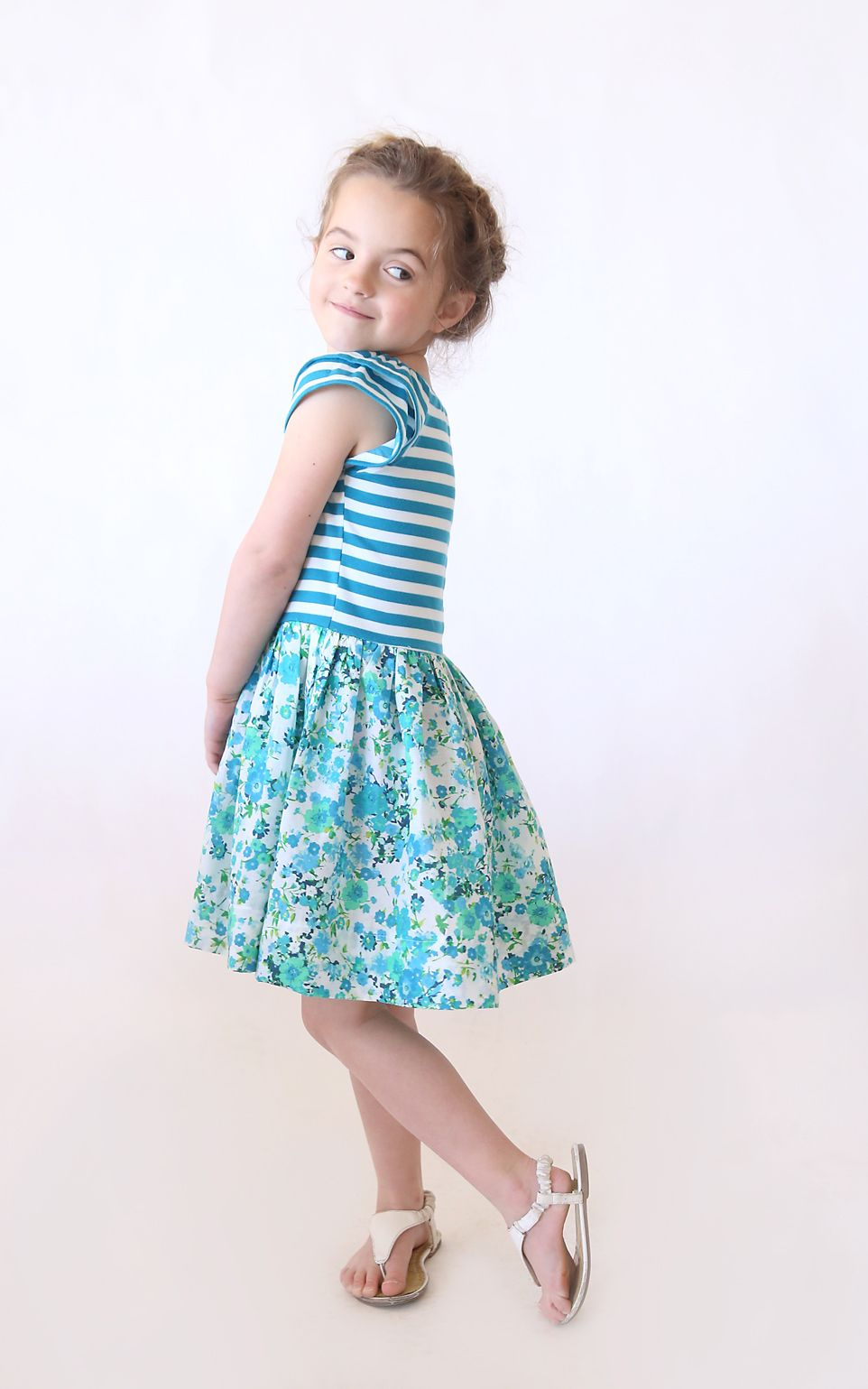Spring girls dresses photo foto