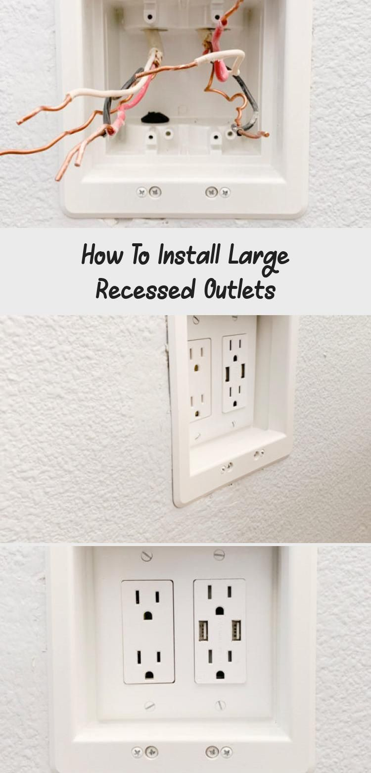 My Blog in 2020 Recessed outlets, Diy home improvement