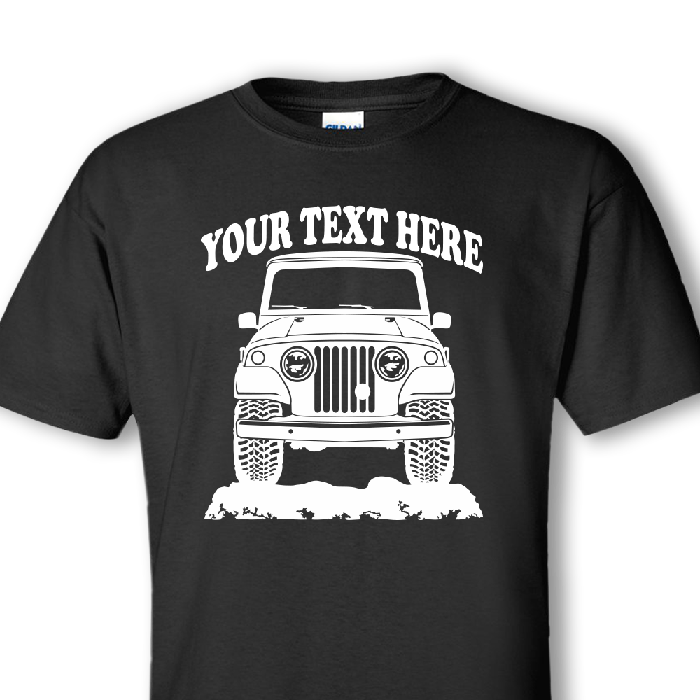 JEEP Custom Personalized T-shirts