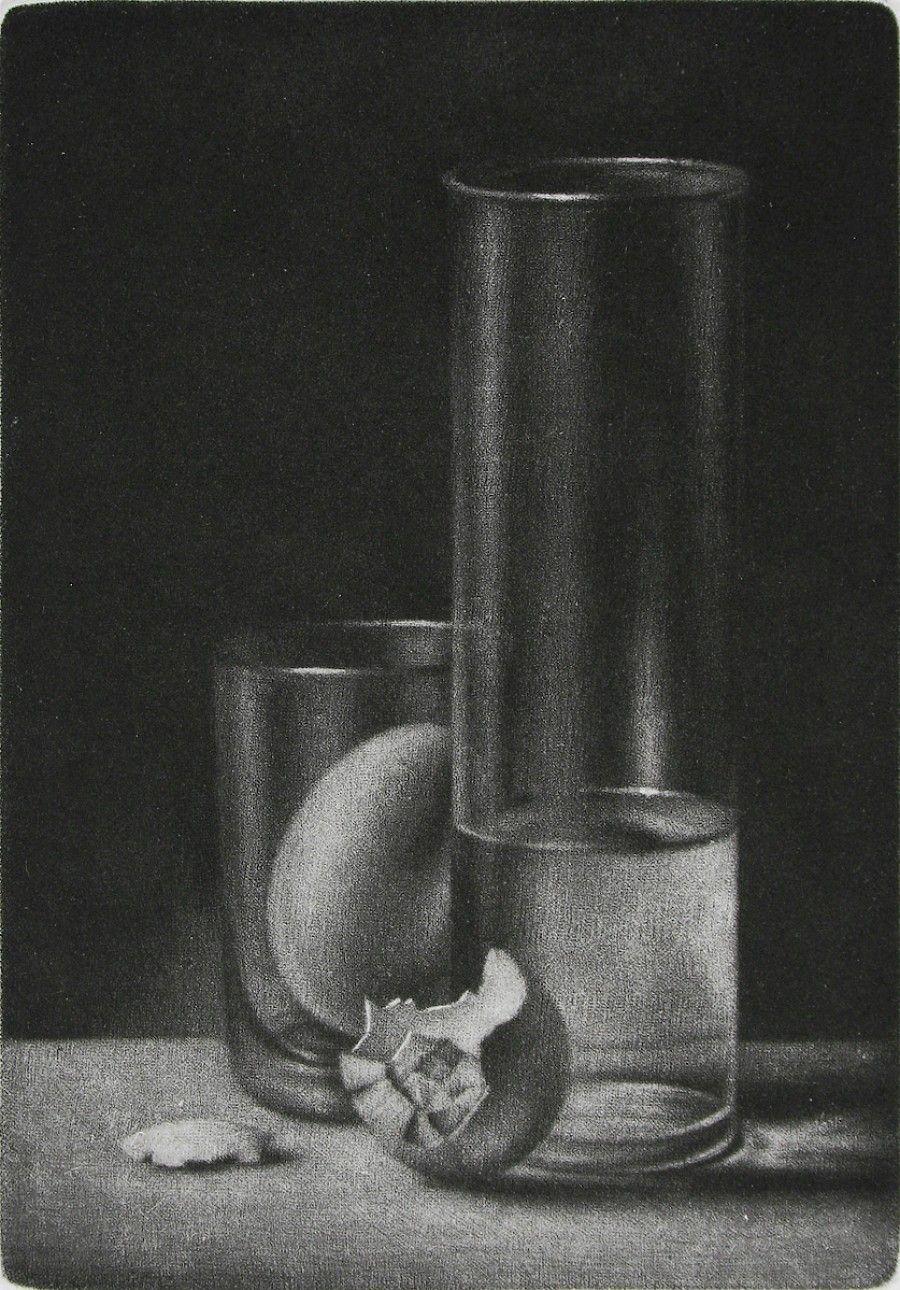 Konstantin Chmutin - Mezzotint - Special Arrangement at Davidson Galleries