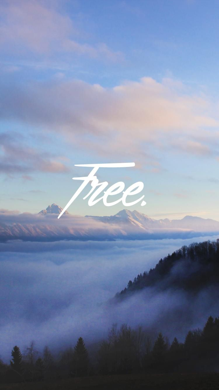 Wallpaper iphone sky - Forest Mist Sky Free Iphone 6 Wallpaper
