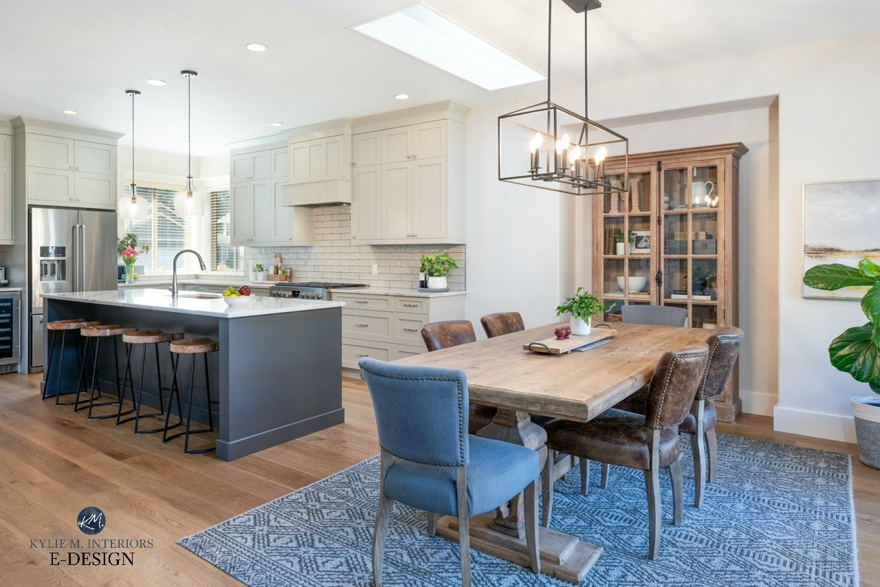 Our Open Layout Kitchen And Dining Room Makeover Before And After Photos Open Kitchen Layouts Open Concept Kitchen Living Room Open Dining Room Kitchen dining room pictures