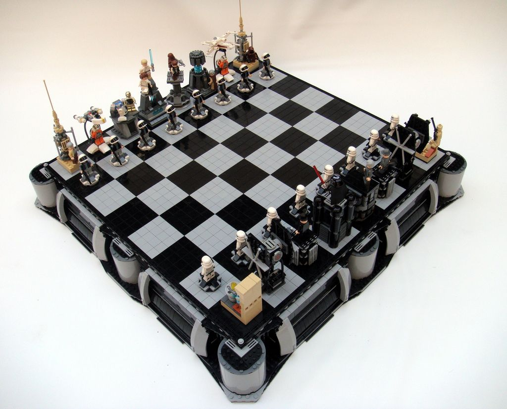 les meilleurs jeux d checs star wars jeux games pinterest lego chess starwars lego and lego. Black Bedroom Furniture Sets. Home Design Ideas