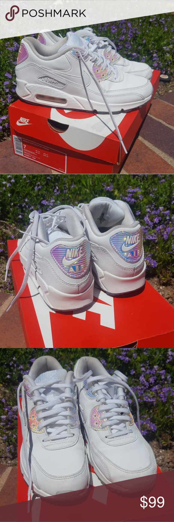 Limited Edition Nike Air Max 90 With Iridescent Nike Air Max 90 Nike Air Max Nike