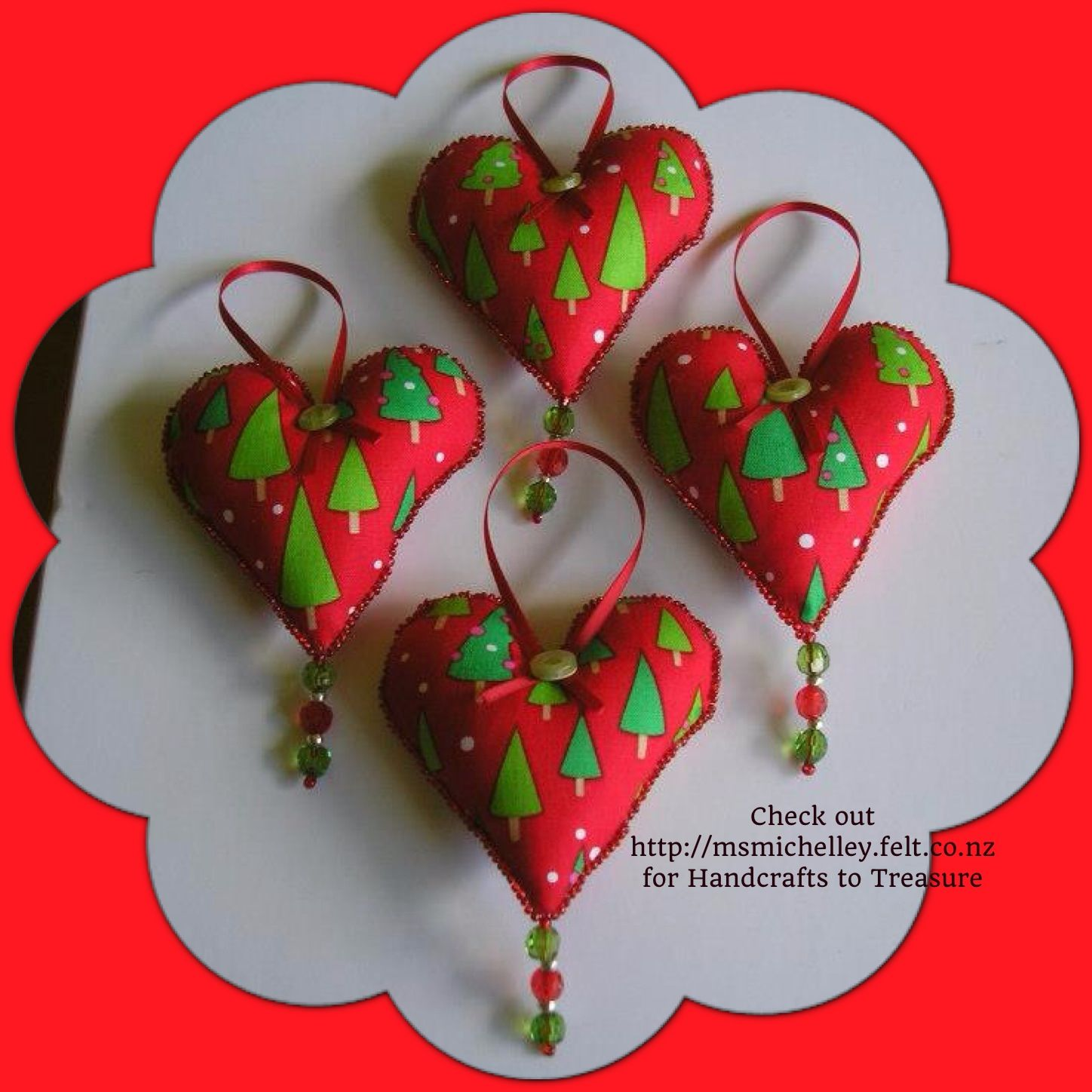 Check Out Msmichelley For Handcrafts To Treasure Crafts Christmas Decorations Http Msmichelley Felt Co Nz Christmas Diy Felt Christmas Crafts