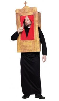 costume de confessionnal deguisement original. Black Bedroom Furniture Sets. Home Design Ideas