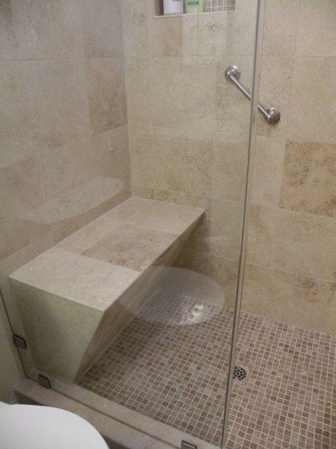 Carissas Bathroom Shower Ideally Stalls Should Allow Room For A Seat Grab