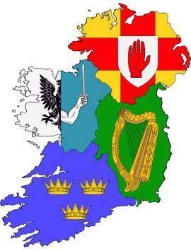 The four provinces of Ireland
