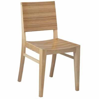 Madison Wood Restaurant Chair | Café