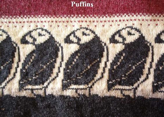 Puffin Pattern Also Penguins Tree Etc At The Source