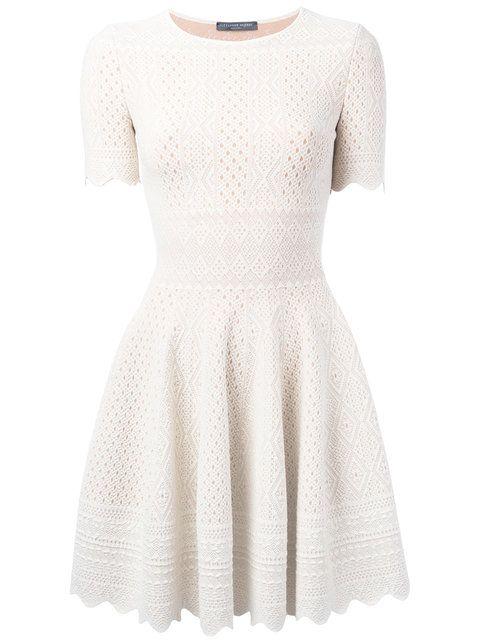 93a7675b8c5 ALEXANDER MCQUEEN Lace Shift Dress.  alexandermcqueen  cloth  dress ...