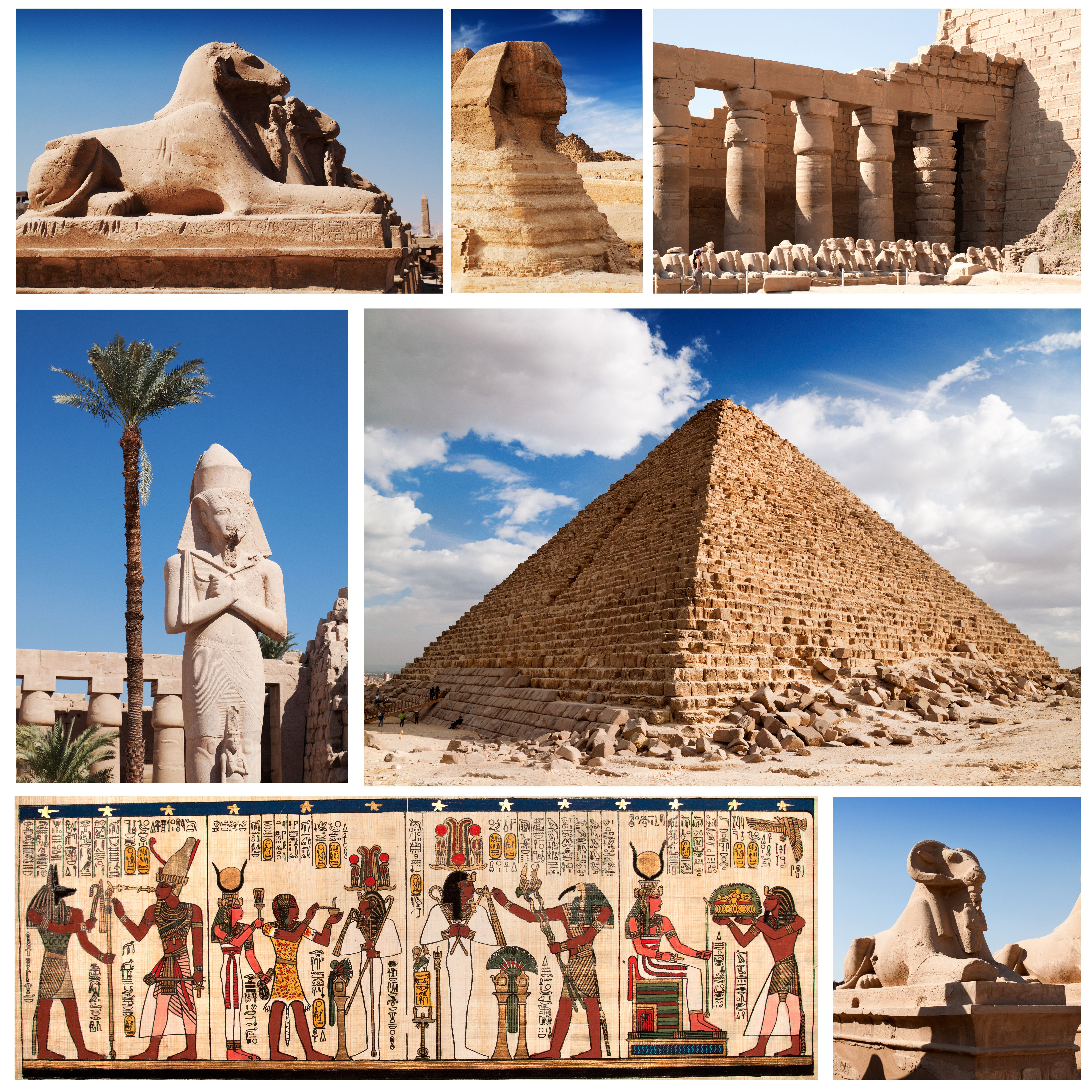 Ancient Egypt Esl Study Guides In Both Spanish And English