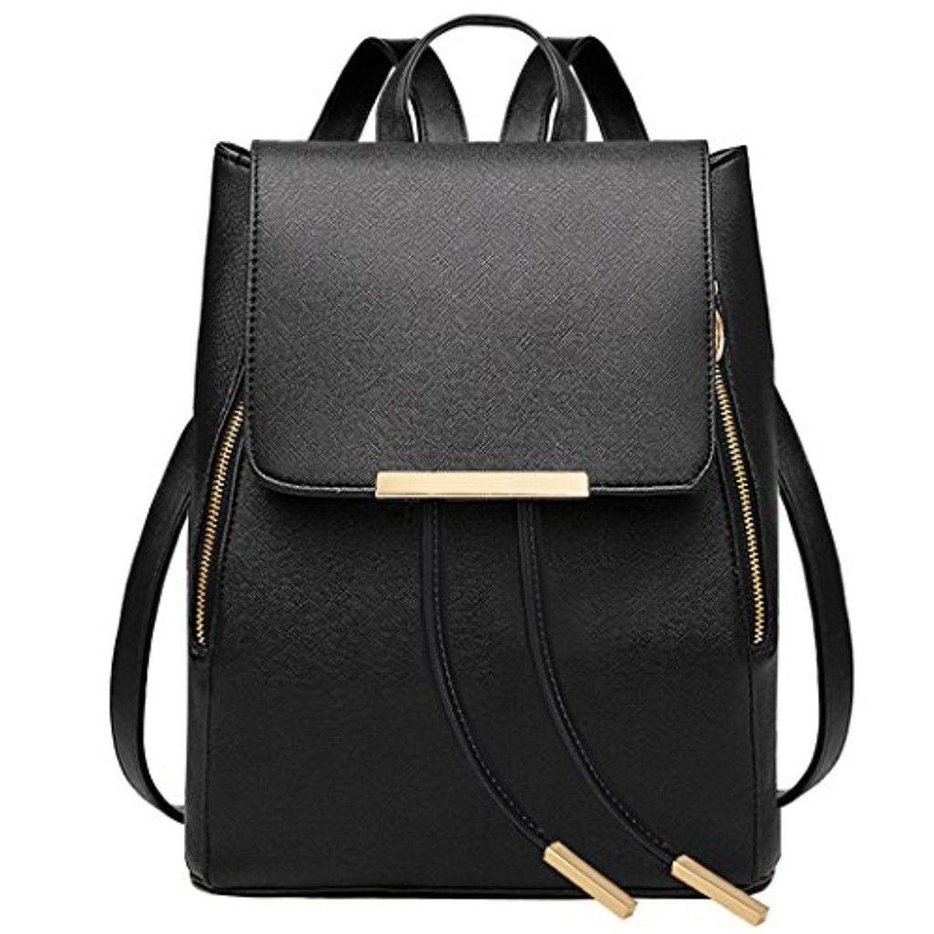 coofit sac dos femme cuir sac portes dos college fille. Black Bedroom Furniture Sets. Home Design Ideas