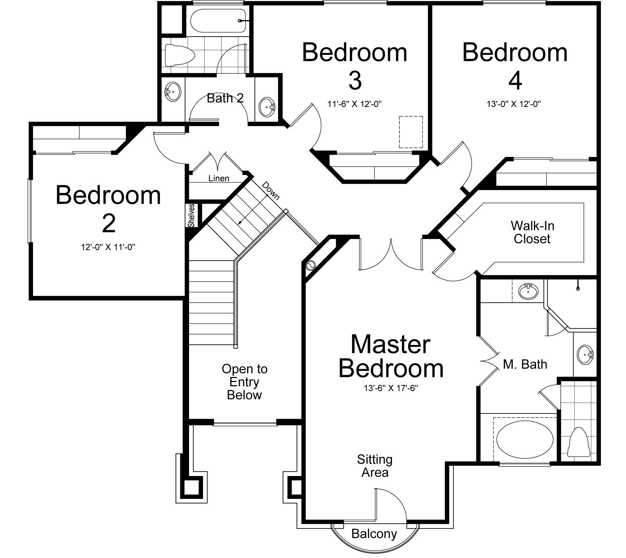 Verona Ivory Homes Floor Plan