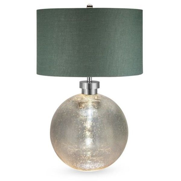 Catalina Lighting Silver Mila Table Lamp (€275) ❤ liked on Polyvore featuring home, lighting, table lamps, silver, silver light, silver table lamps, silver lights and silver lamps