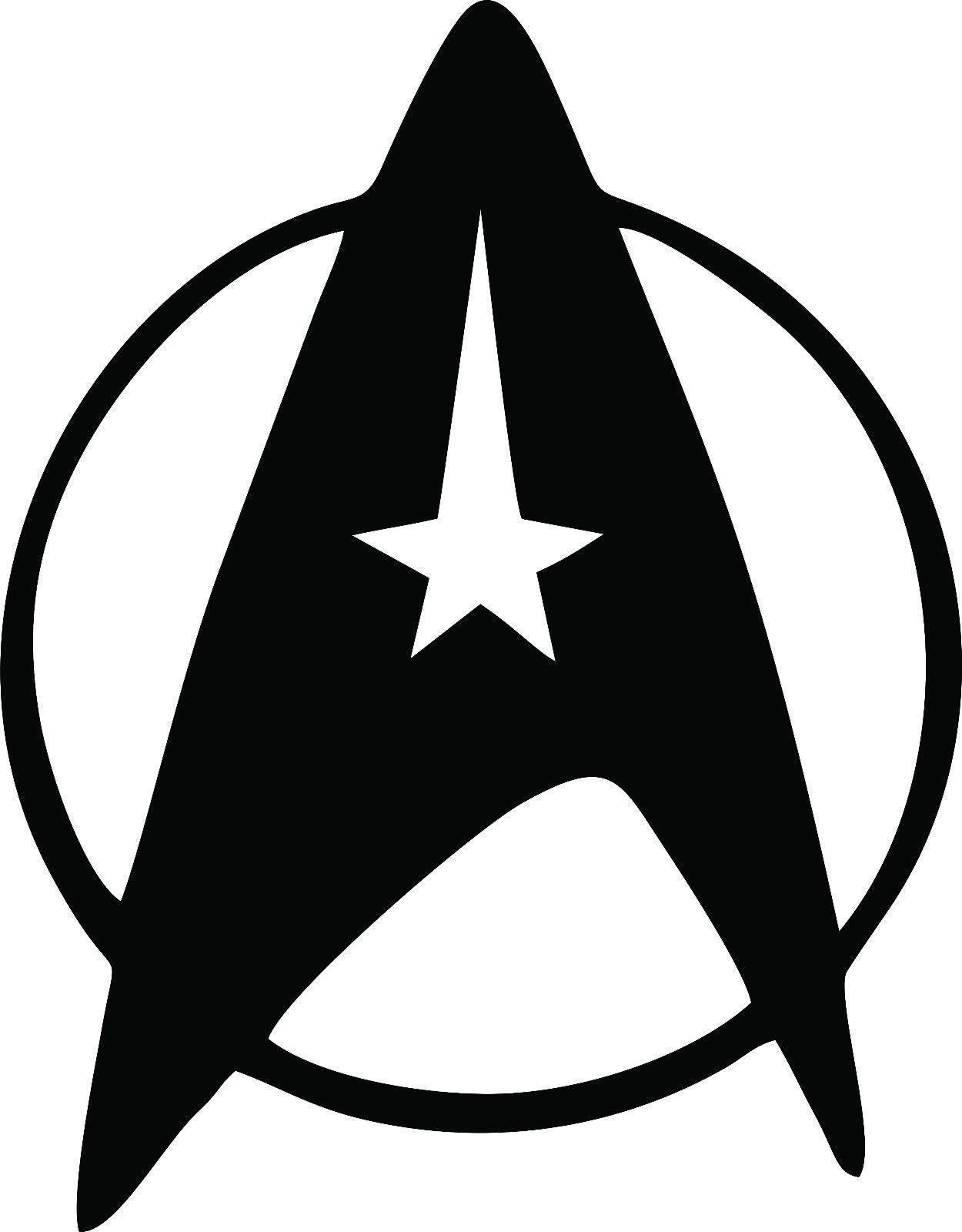 Star Trek Federation Symbol Logo Vinyl Decal Laptop Car Geek Nerd Stickers Muraux Plaque De Rue Affiche Star Trek [ 1600 x 1250 Pixel ]