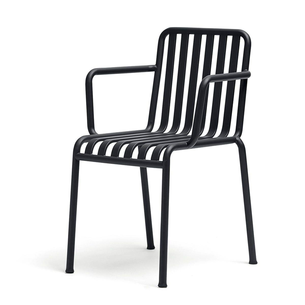 Hay Palissade Armlehnenstuhl Anthrazit In 2020 Aussenmobel Stuhle Und Einrichtungstipps