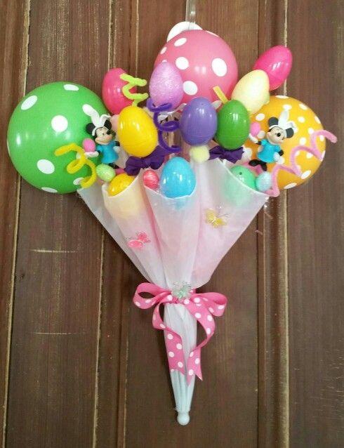 Umbrella easter basket i made 3 great ideas pinterest easter umbrella easter basket i made 3 negle Images