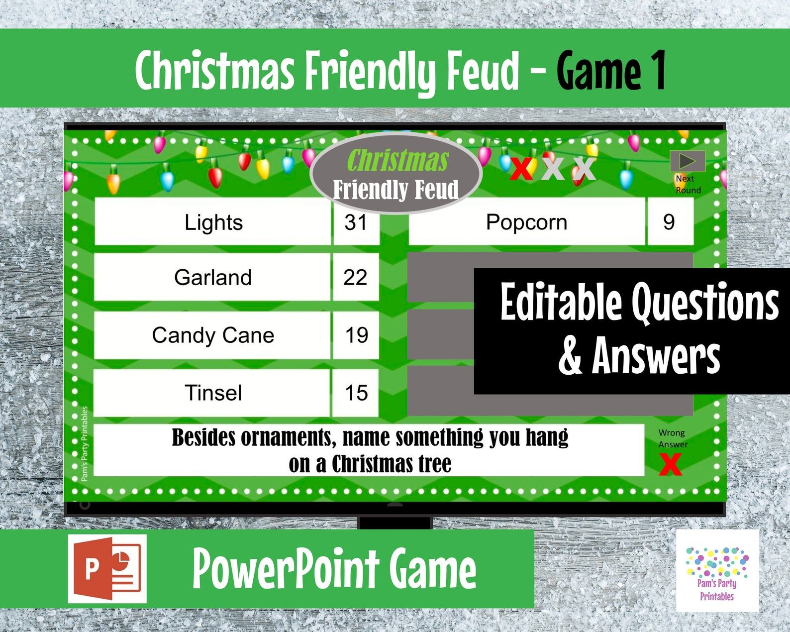 Pin on Family Feud Electronic Game