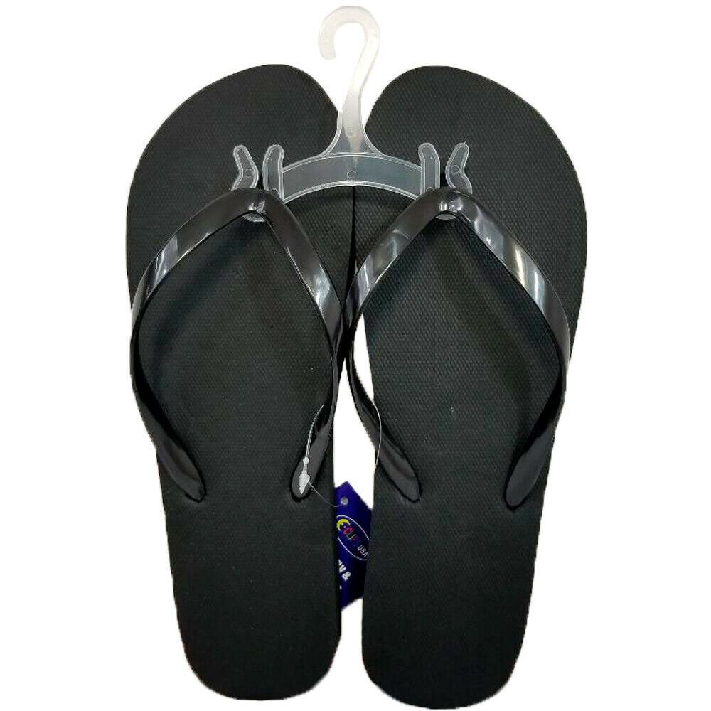 8100cc86b Wholesale Bulk Lot of 48 Pairs Women s Black Summer Beach Flip Flops ...
