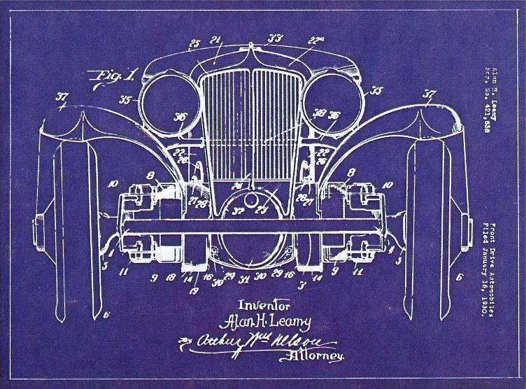 Alan H Leamy blueprint Art \ Design Pinterest Wheels and Cars - new old blueprint art