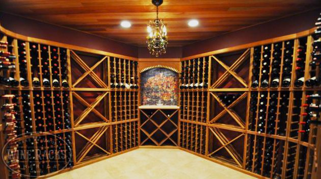 We Love The Balance In This Cellar The Open Space Along With The
