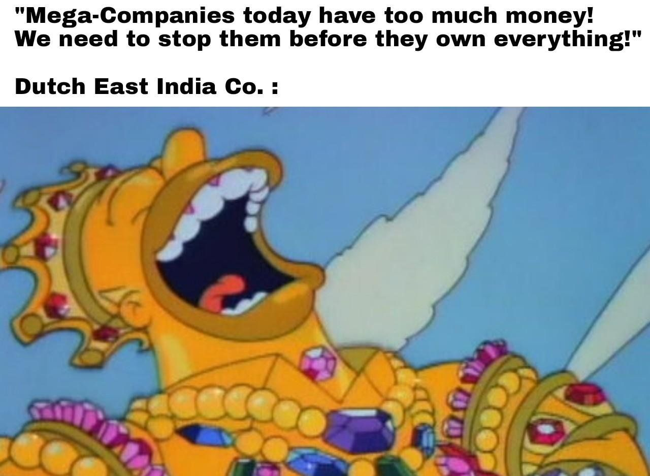 Laughs In Trillions Of Dollars Historymemes Silly Memes Historical Memes New Memes