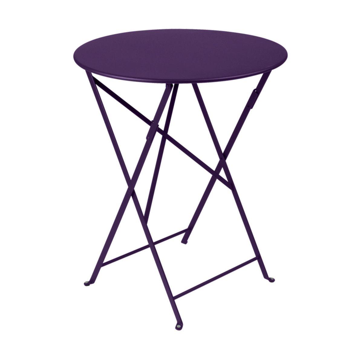 Bistro Tisch rund aubergine Jetzt bestellen unter: https://moebel ...