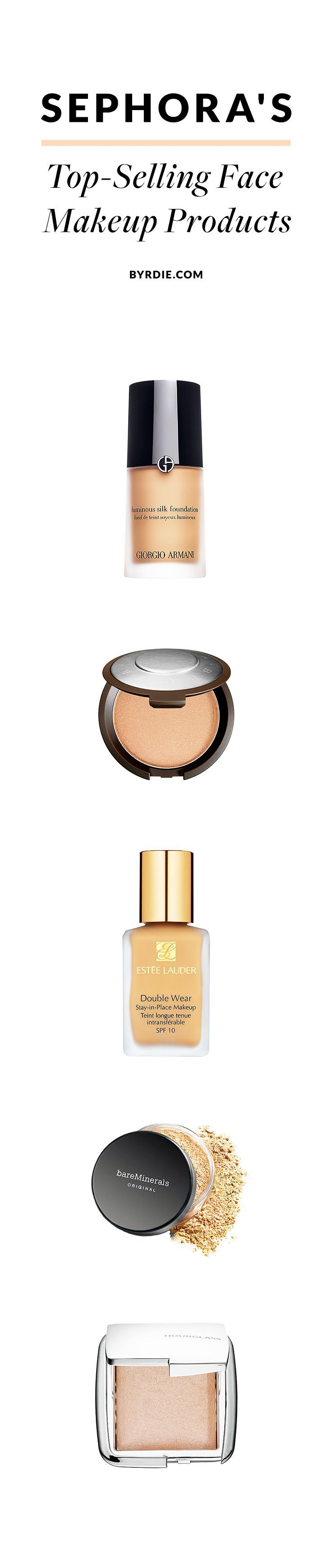 The best-selling skin makeup products at Sephora
