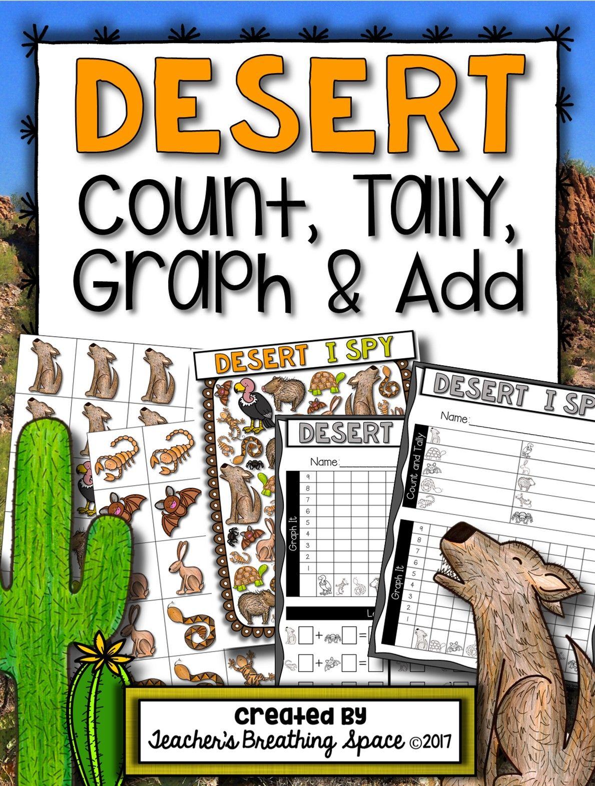 Desert Count Tally Graph And Add Desert Graphing