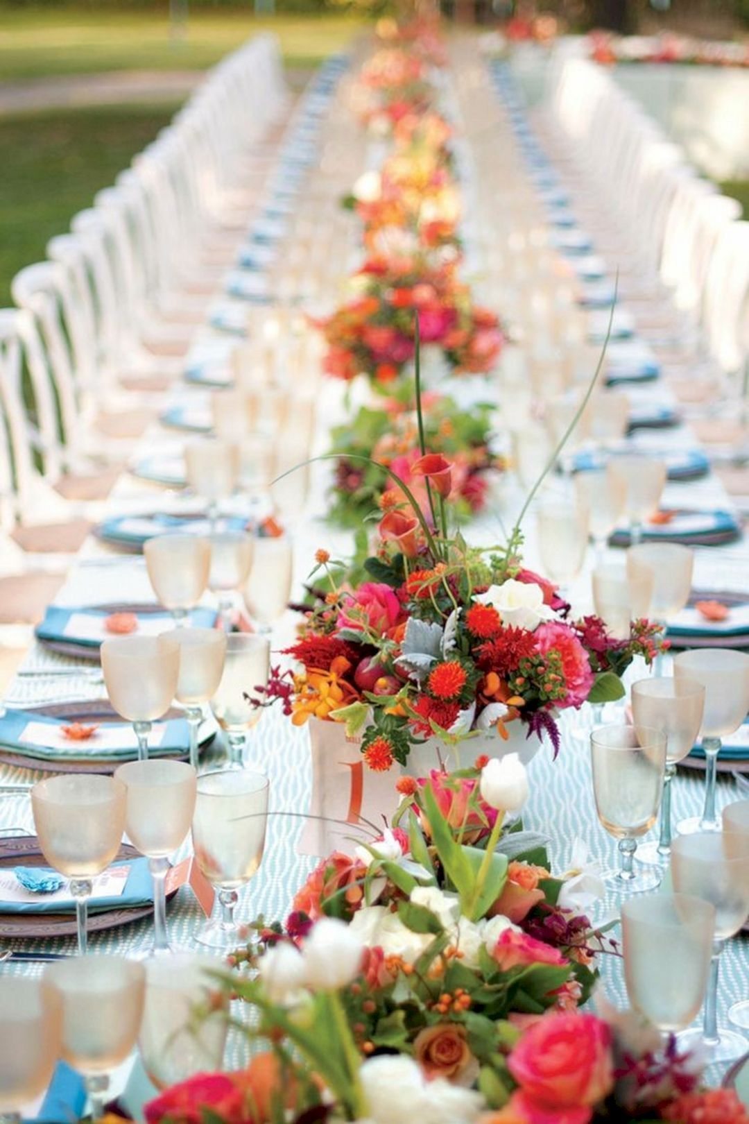 Wedding dinner decoration ideas   Gorgeous Spring Wedding Theme Ideas For Pretty Spring Season