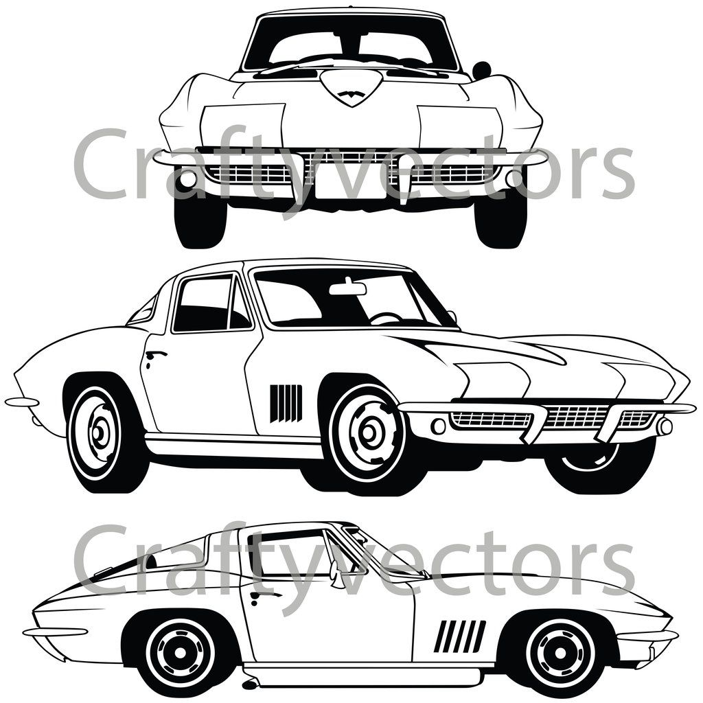 43++ Corvette coloring pages pdf info
