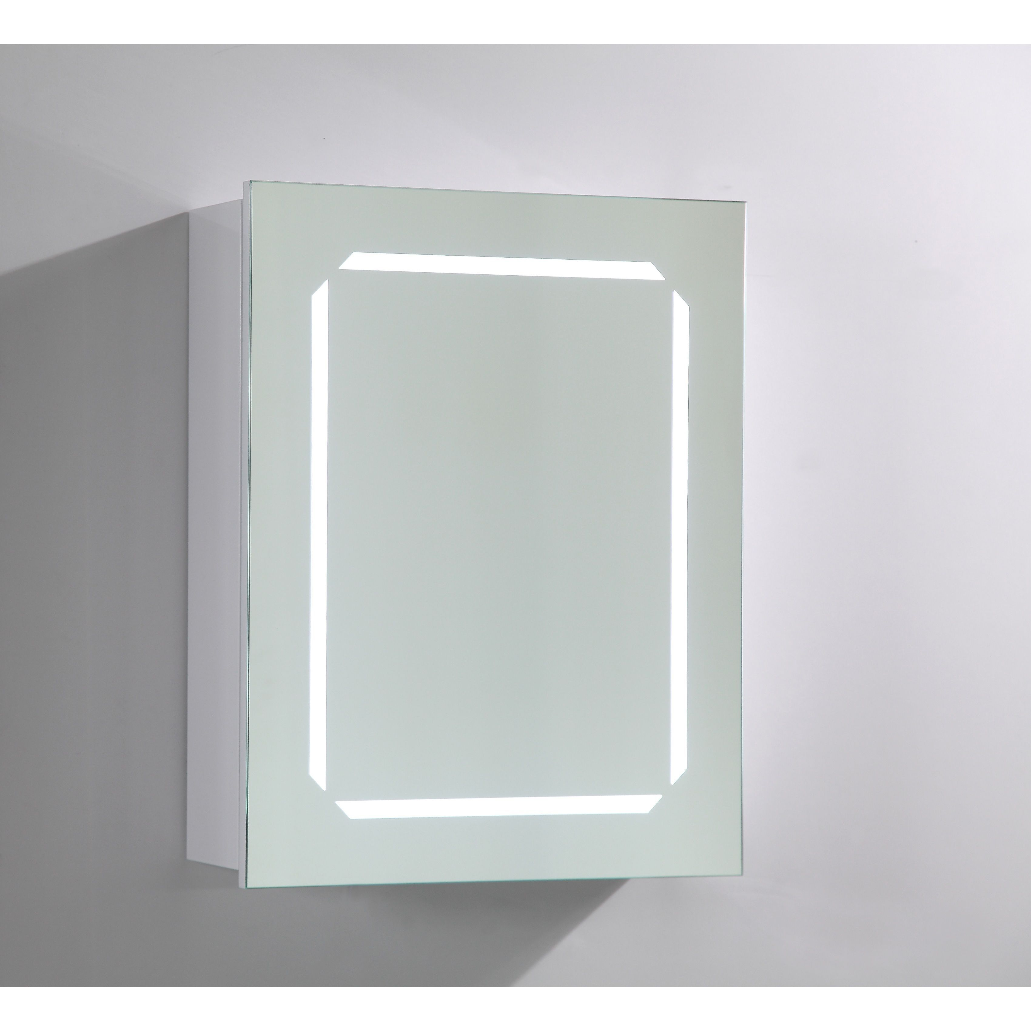 Inspirational Led Lighted Recessed Medicine Cabinet