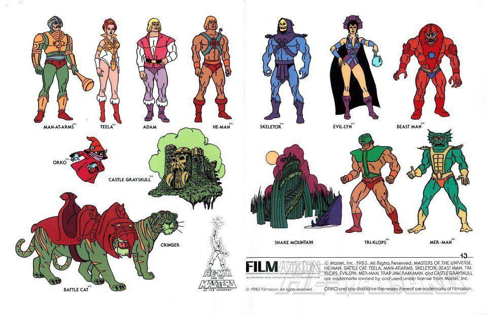 Personajes he man | Personajes de marvel, Super héroe, Series de los 80