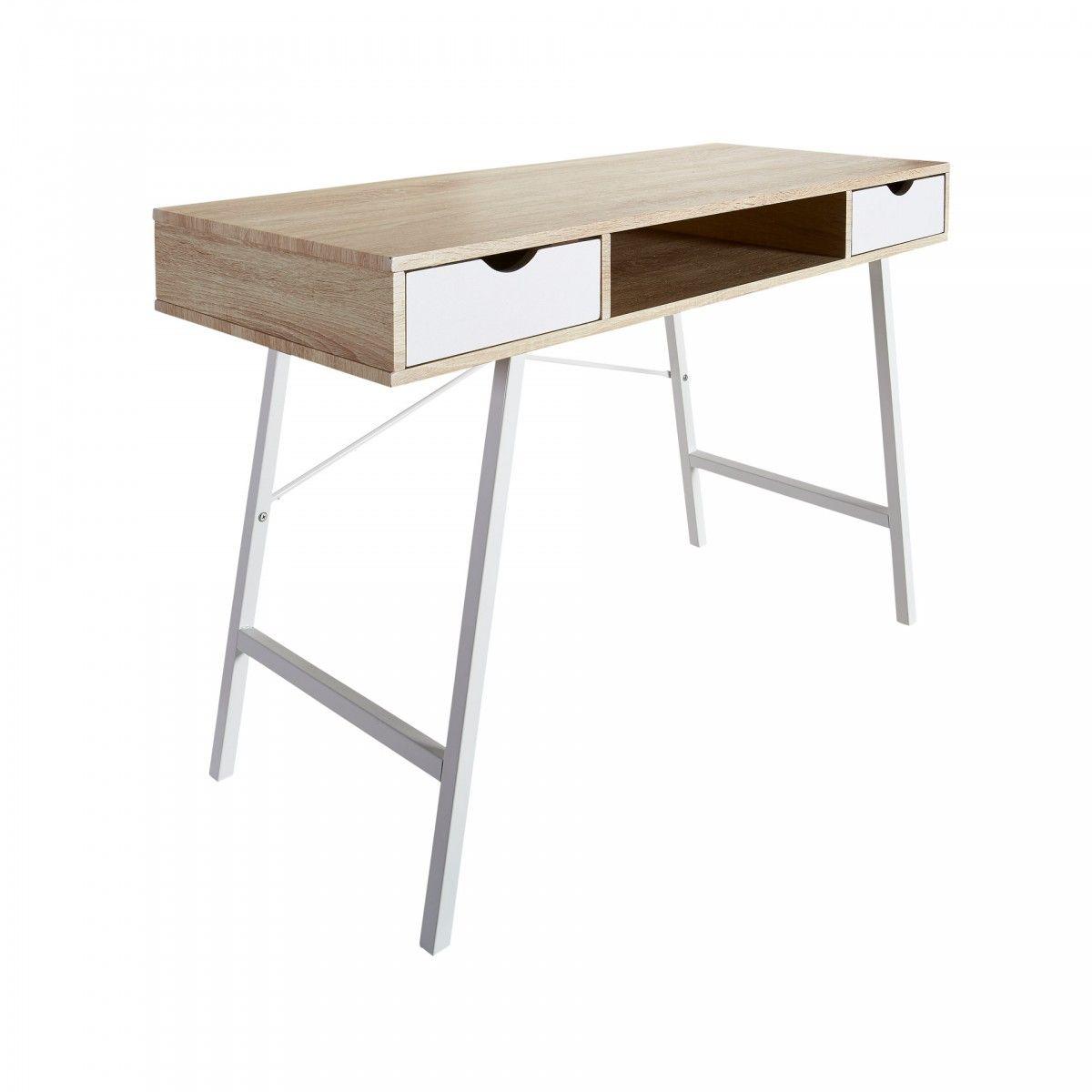 Schön Schreibtisch Schmal Dekoration Von Unser Bryrup Ist Mit Seinem Schlichten Design