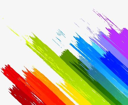 Ink Color Dynamic Color Abstract Shading Background Png