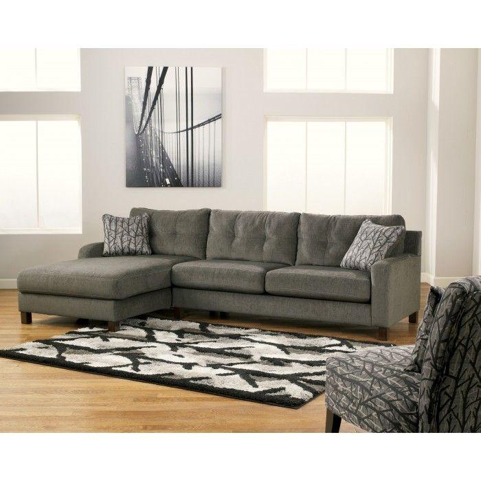 Siroun Steel Ashley Furniture Living Room Furniture Ashley Furniture Sectional Sofa Couch