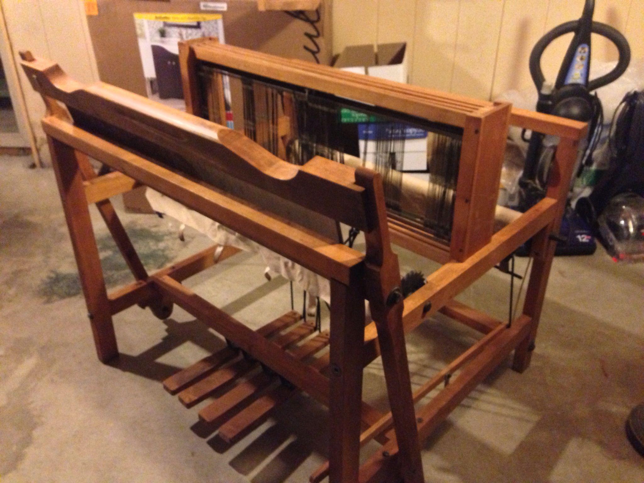 My new to me 4 shaft Clement loom  | Wheels & Looms | Loom weaving