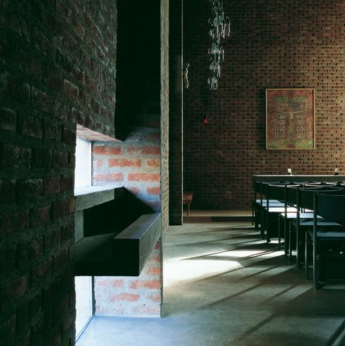 Lund & Slaatto - St. Hallvard church, Oslo 1966. Photos (C)...