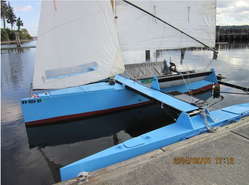 best-guess-trimaran-more-updates in 2020   Small boats ...