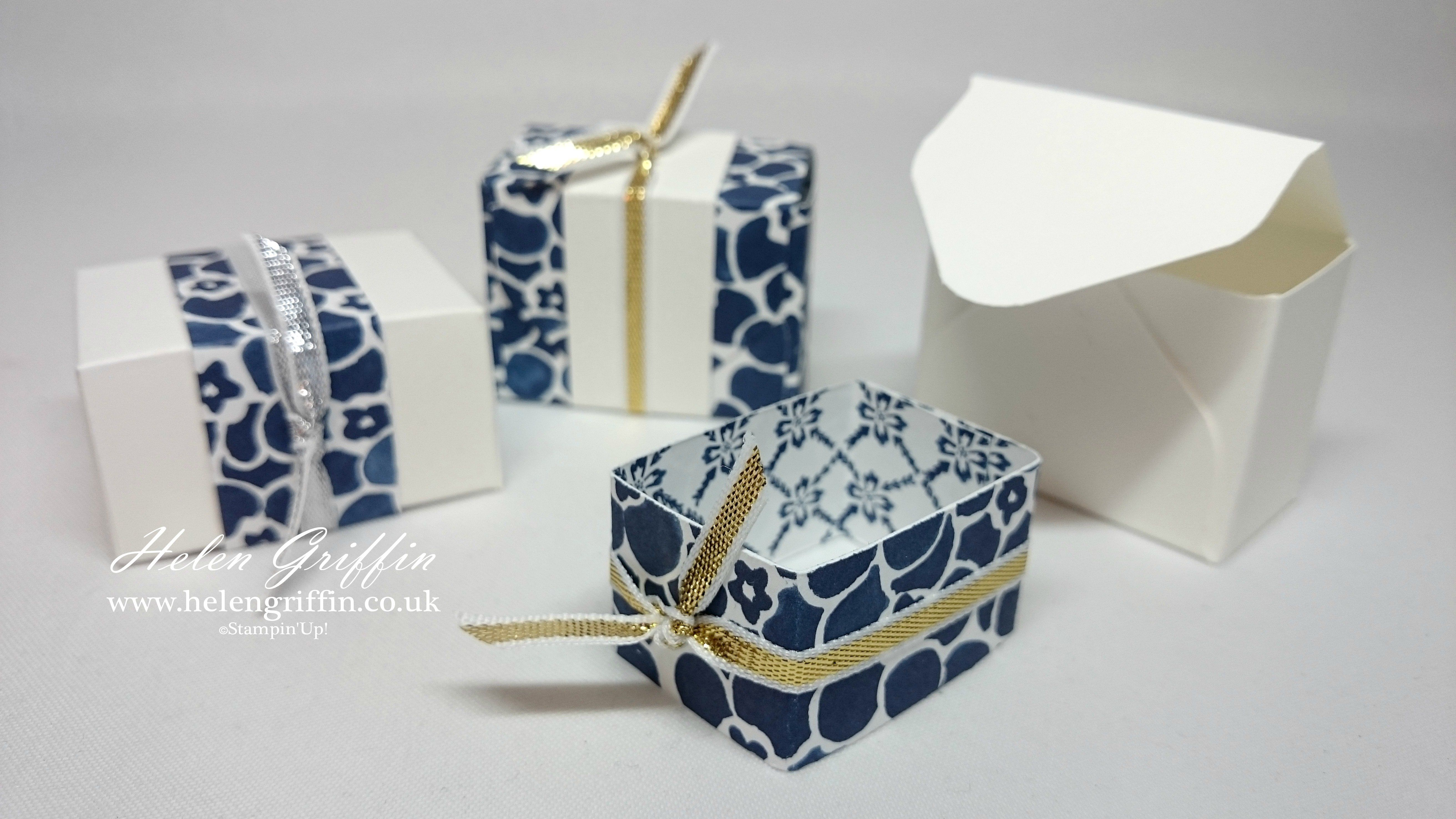 Wedding Favour Treat Boxes | Envelope Punch Board | Birthday/Party ...