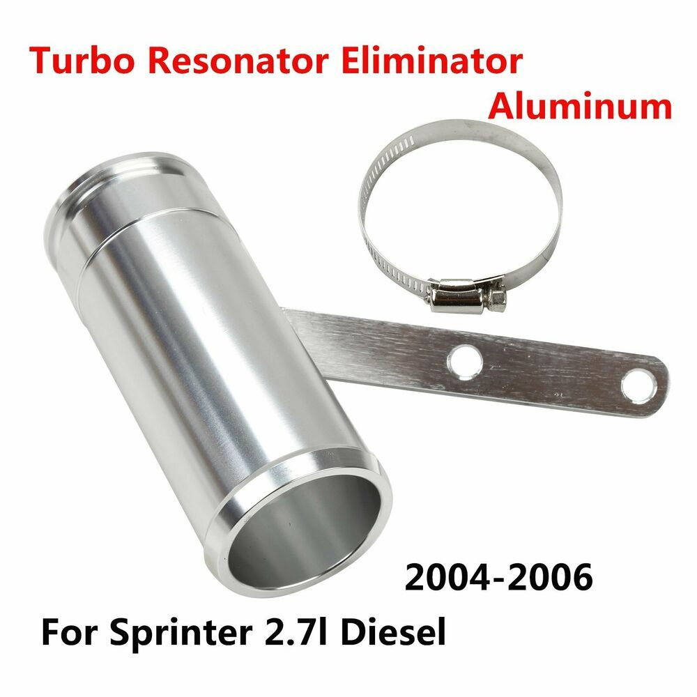 Aluminum Turbo Resonator Eliminator Upgrade Fix Repair for Sprinter 2.7L Diesel